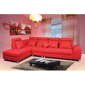 bright color couch