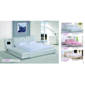 elegant design of double bed
